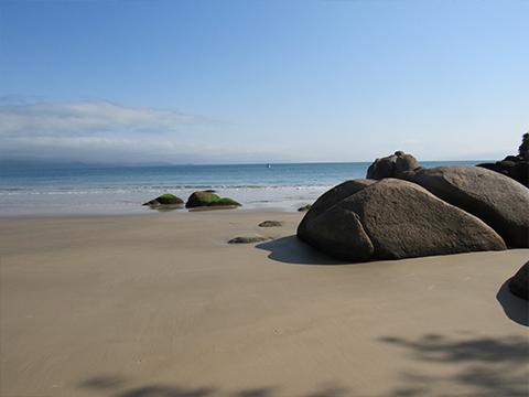 Praia - Áreas Comuns - Pousada Villa Friuli